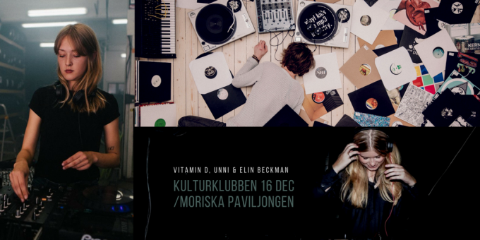 kulturklubben lund elin beckman Unni Berggren vitamin d Malmö disco underground house klubb